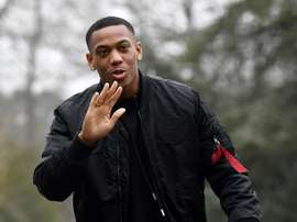 Anthony Martial. AFP
