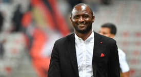 Patrick Vieira pode suceder Guardiola no comando do City. AFP