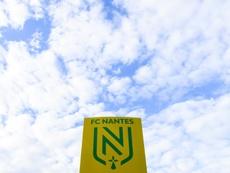 Cinq nouveaux cas positifs au FC Nantes. AFP