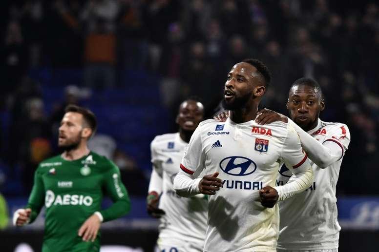 VIDEO: Moussa Dembele's rapid rise at Olympique Lyonnais. AFP