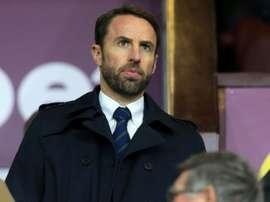 Gareth Southgate no quiere que se le escape James Tarkowski. AFP/Archivo