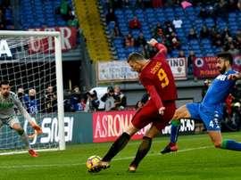 Sampdoria e Roma empataram em 1-1. AFP
