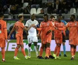 Victoire compliqué. AFP