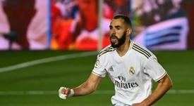 Estos son los onces de Leganés y Real Madrid. AFP