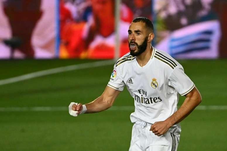 Benzema, al asalto del 'top ten' de jugadores en activo en LaLiga. AFP