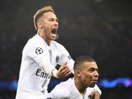 Mbappe and Neymar are PSG's two biggest stars. AFP