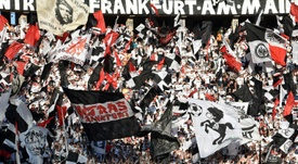 El Eintracht firmó una de las goleadas de la jornada. AFP/Archivo