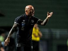 Jorge Sampaoli nouvel entraîneur de l'Atletico Mineiro. AFP