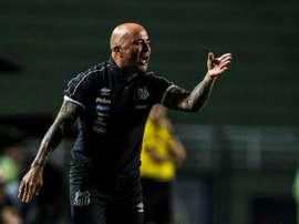 Jorge Sampaoli réclame 4,5 millions d'euros à la fédération chilienne. AFP