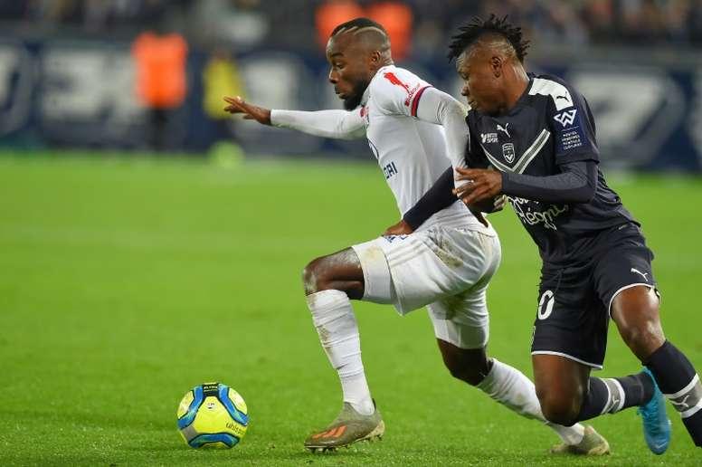 Le Lyonnais Maxwel Cornet, cauchemar de City et de Guardiola. afp