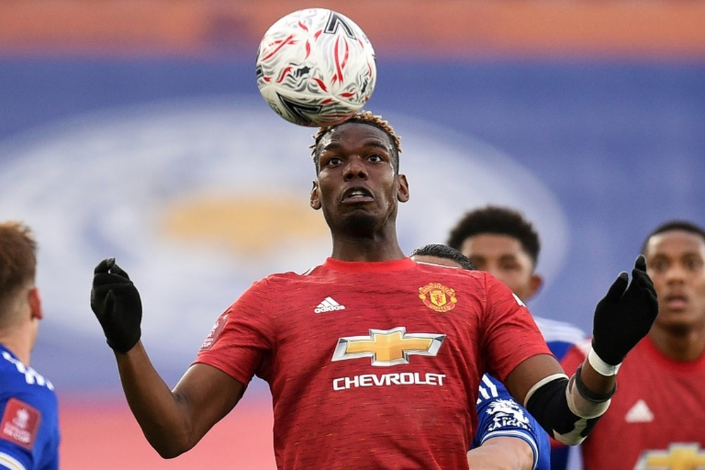 Pogba is convinced he wants to go to PSG. AFP