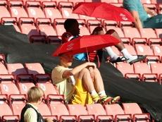 Ozil veut rester à Arsenal. afp