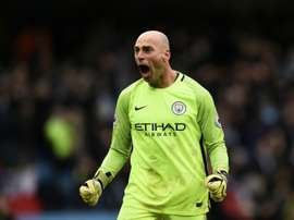 Willy Caballero has become Chelsea's first signing of the summer. AFP