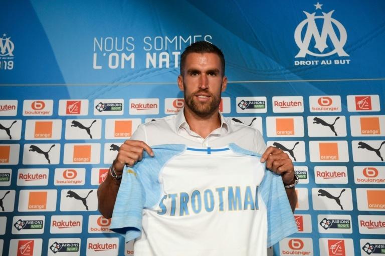 Maillot THIRD Olympique de Marseille Kevin STROOTMAN