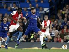 Chelsea rejoint aussi les demies. AFP