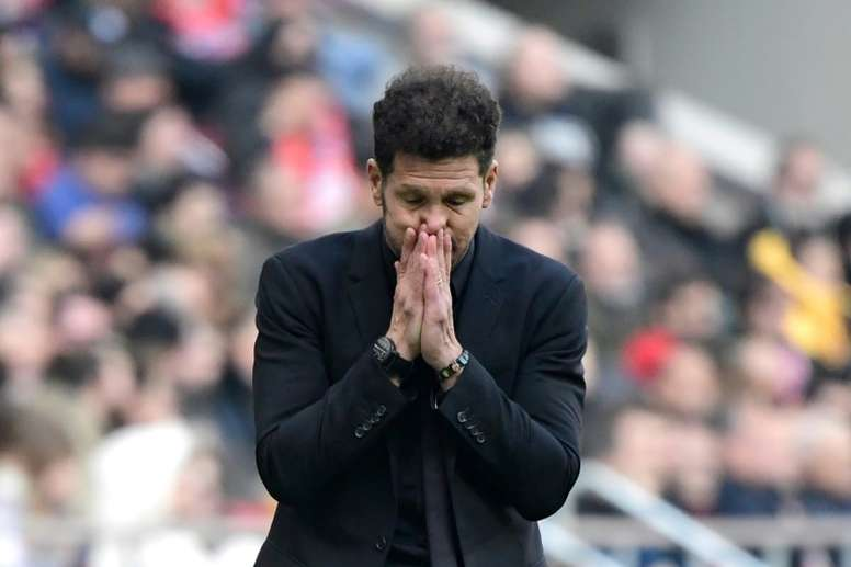 Simeone promet des solutions pour l'Atletico. AFP