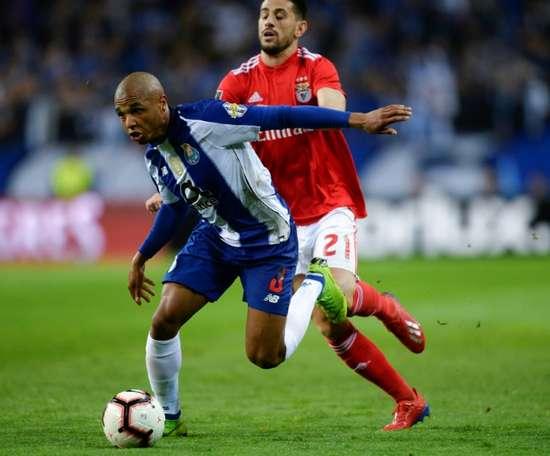 O campeão da Liga Portuguesa será conhecido na derradeira jornada. AFP