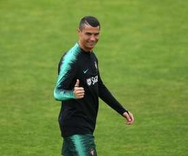 Ronaldo is looking forward to winning the World Cup. AFP