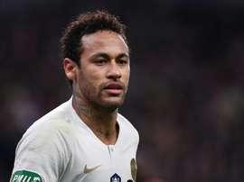 Neymar irá ao Bernabéu. AFP