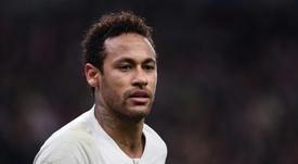 Neymar foi especulado no meio do ano para voltar ao Barça. AFP