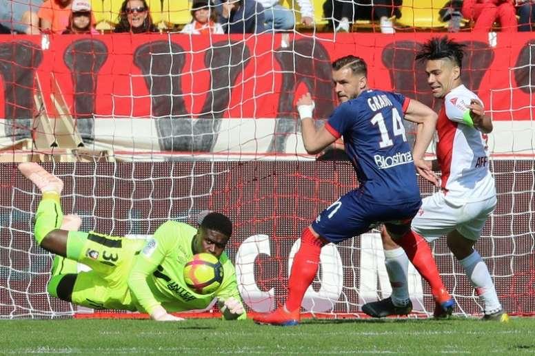 El Mónaco volvió a perder tras siete partidos. AFP