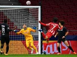 Victoire à l'arraché de l'Atlético contre Salzbourg. afp