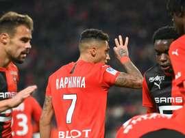 L'honneur à sauver pour Rennes. AFP