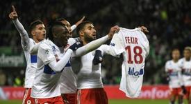 Fekir n'a pas peur de Saint-Étienne. AFP