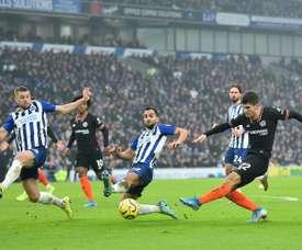 Brighton não abre mão de seu estádio. AFP