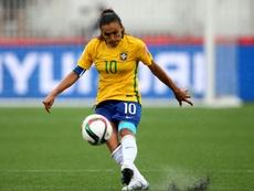 Le Brésil avec Marta et Formiga pour le mondial féminin. AFP
