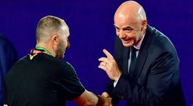 La presse encense le sélectionneur algérien. AFP