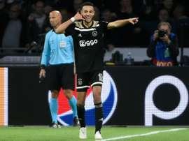 El Ajax es colíder de su grupo junto al Bayern. AFP