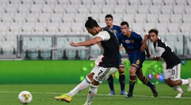 La Juventus goleó al Lecce. AFP
