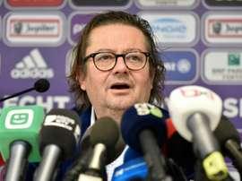Anderlecht change de président. AFP