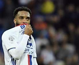 Lorient a humilié Lyon en Ligue 1. AFP