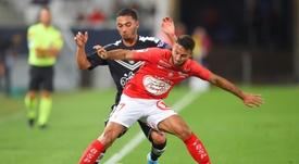 Empate a dos en el Girondins de Burdeos-Stade Brestois. AFP