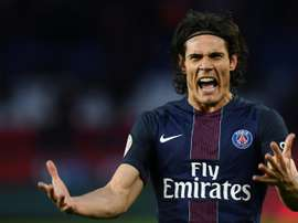 Cavani's 80th minute penalty saves PSG from surprise defeat.
