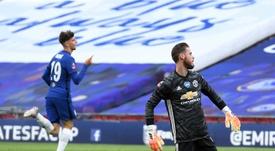 Les compos probables du match de Premier League entre MU et Chelsea. afp
