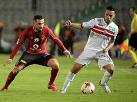 Al-Ahly et Zamalek se rencontreront ce samedi. AFP