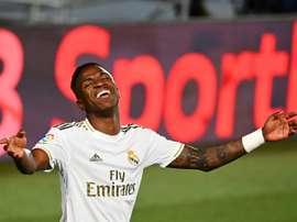Vinicius teve a oportunidade de ir ao Barcelona em vez do Real Madrid. AFP