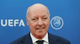 Marotta habló sobre el interés del Inter en Vidal. AFP