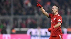 Ribéry pourrait être le prochain rival du Bétis cet été. AFP