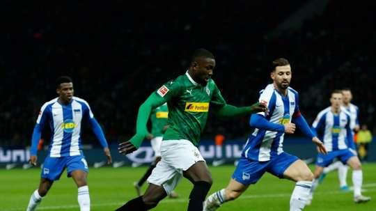 Thuram affrontera Schalke. AFP