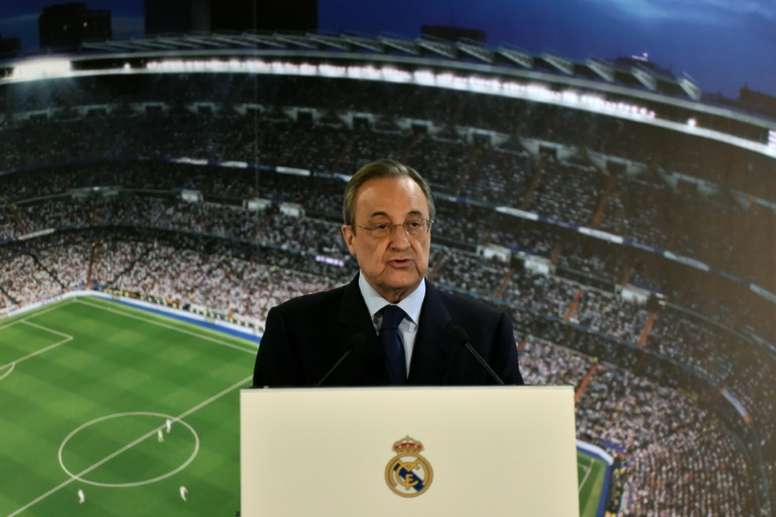 Madrid president Florentino Perez will be able to sign players for the club next summer. AFP