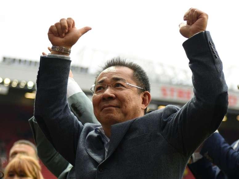 Vichai empezó a invertir en los 'foxes' en 2010. AFP