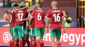 La CAF répond aux plaintes du Maroc pour l'absence de pause fraîcheur. AFP