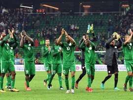 Weah tells Nigeria to prepare well for World Cup. AFP