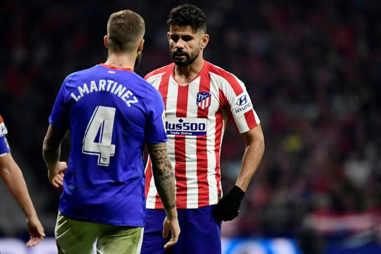 Jornal espanhol diz que Flamengo e Atlético já negociam Diego Costa. AFP