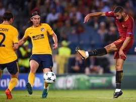 Defrel no ha cuajado en la Roma. AFP