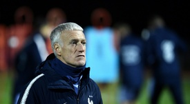 It will be Deschamps 100th game in charge against Albania! AFP